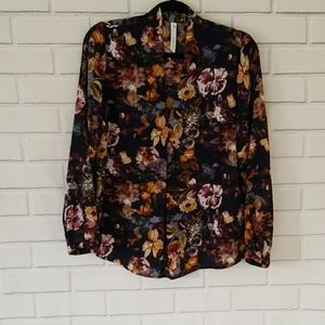 3FOR$20 NY Collection Floral Blouse Size M
